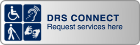 Disability Resources & Services Request Services Button